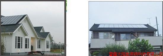 如果是户用别墅砖瓦结构的屋顶